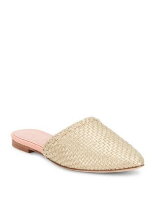 Mariel Textured Leather Slides by Kate Spade New York