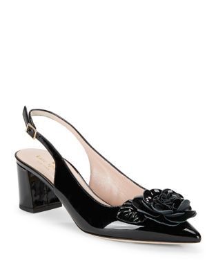 Mercer Patent Leather Slingback Pumps by Kate Spade New York
