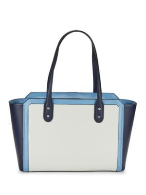 Soho Eclipse Leather Tote by Ivanka Trump