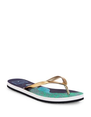 Nassau Rubber Flip Flops by Kate Spade New York