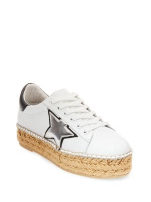 Phase Leather Sneakers by Steven by Steve Madden
