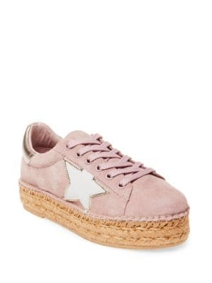 Phase Suede Sneakers by Steven by Steve Madden