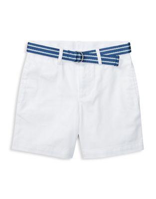 Baby Boys CottonBlend Twill Shorts
