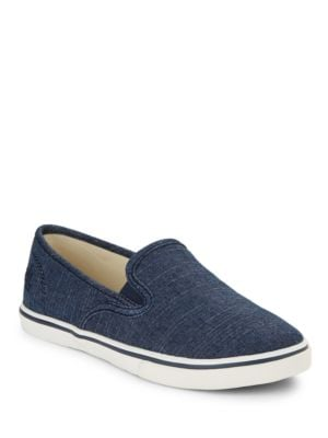 Janis Slip-On Chambray Sneakers by Lauren Ralph Lauren