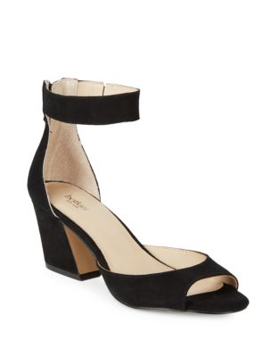 Pilar Kid Suede Ankle-Strap...