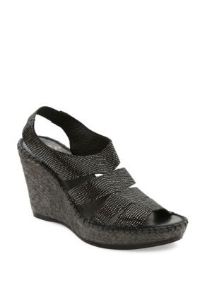 Laurel Espadrille Wedge Sandals by Andre Assous
