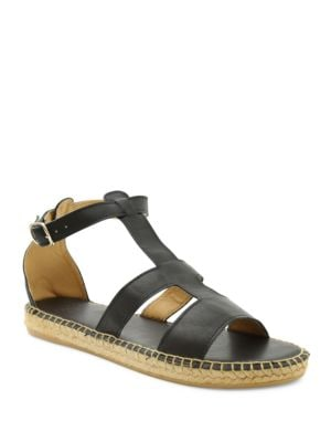 Carole Gladiator Espadrille Leather Sandals by Andre Assous