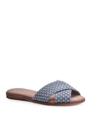 Photo of Barron Woven Slides by Splendid - shop Splendid shoes sales
