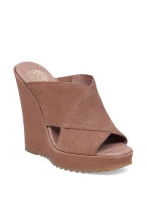 Buy Garton Leather Wedge Sandals by Vince Camuto online