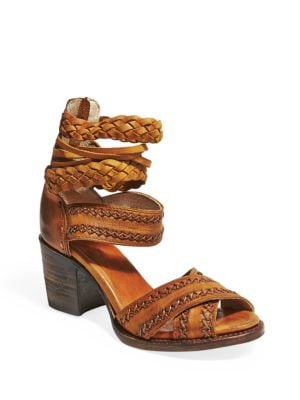 Axel Leather Sandals by Freebird By Steven