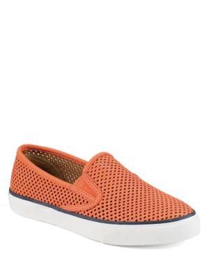 Seaside Perforated Slip-On Sneakers by Sperry