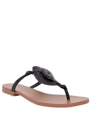 Ilka Calf Leather Thong Sandals by Nina