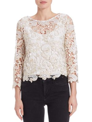 Crotched Lace Top by Marina