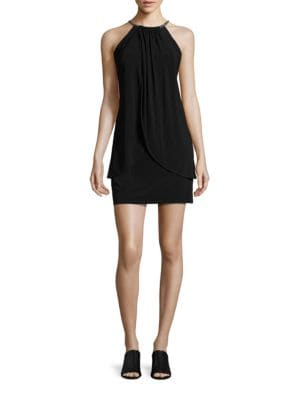 Embellished Shift Dress by Jessica Simpson