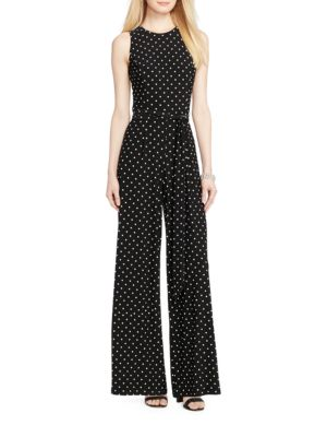 Sleeveless Jersey Jumpsuit by Lauren Ralph Lauren