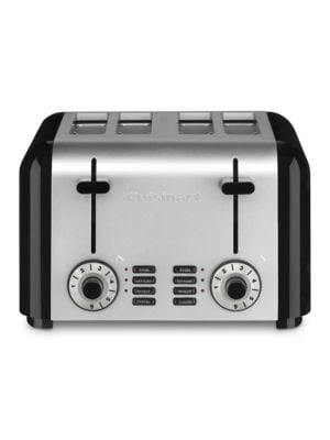4-Slice Compact Stainless Toaster photo