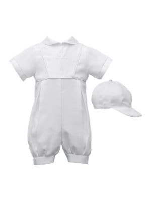 Christening Romper with...