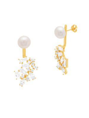Fresh Water Pearl Multi-Shape Earrings 500042102764