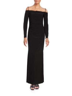 Cold Shoulder Gown by Laundry by Shelli Segal