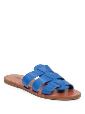 Aisha Leather Slides by Lucky Brand