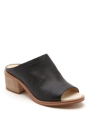 Kyla Leather Mules by Dolce Vita