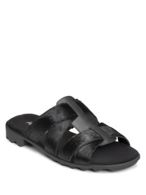 Devine Leather Sandals by Aerosoles