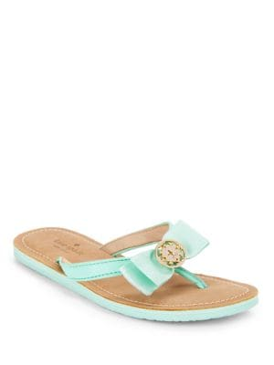 Ida Leather Thong Sandals by Kate Spade New York