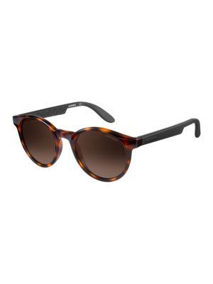 Tortoiseshell Round Sunglasses by Carrera