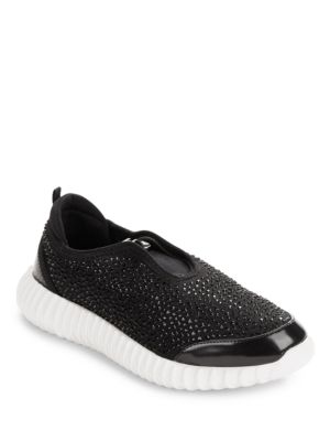 Dion Rhinestone Embellished Sneakers by Kenneth Cole New York