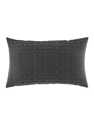 Chatfield Embroidered Decorative Pillow 12in x 20in 500042830497