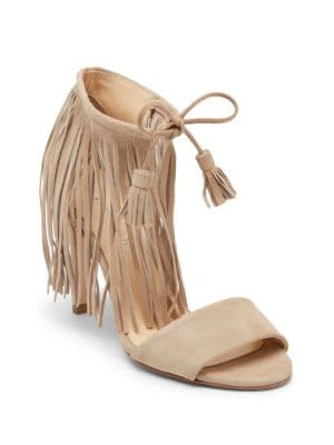 Mylah Suede Fringe Sandals by Kenneth Cole New York