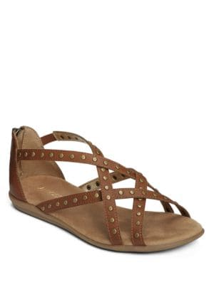 Chlosing Time Zipped Sandals by Aerosoles
