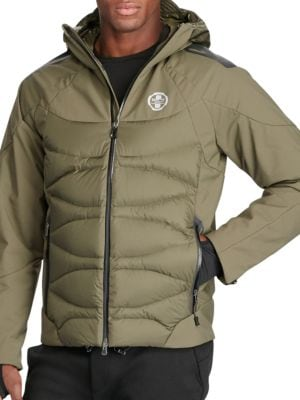 Water-Resistant Down Jacket by Polo Sport