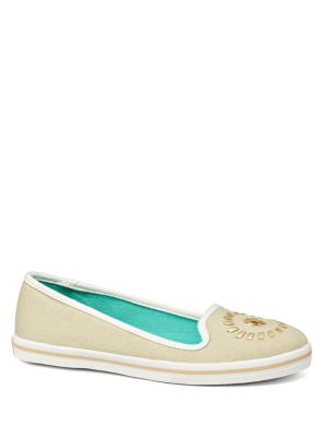 Mila Canvas Slip-On Sneakers by Jack Rogers