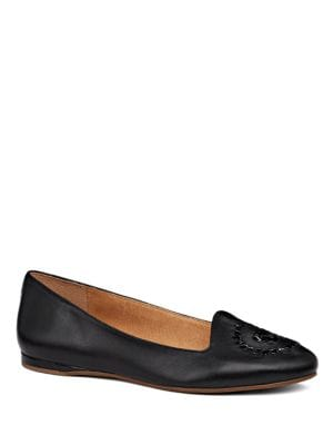 Rebecca Leather Flats by Jack Rogers