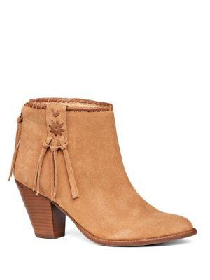 Greer Suede Ankle Bootes by Jack Rogers