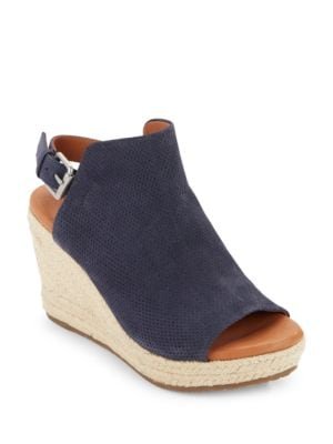 Katie Suede Espadrille Wedges by Gentle Souls