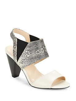 Karl Lagerfeld Paris - Floquet Leather Sandals