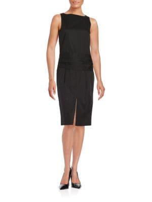 Open-Back Dress by DKNY
