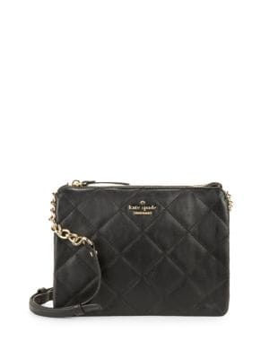 Harbor Quilted Leather Crossbody 500043028257