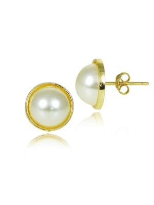Faux Pearl and Goldtone...
