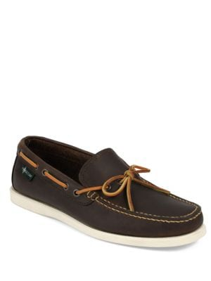 Yarmouth 1955 Leather Boat Shoes 500043076868