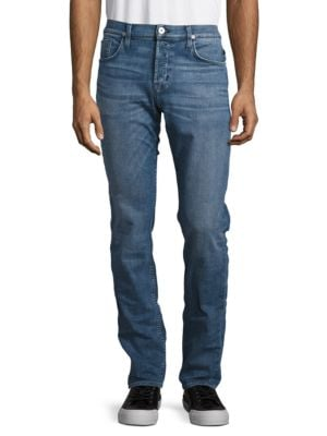 Slim-Fit Faded Jeans by Hudson Jeans