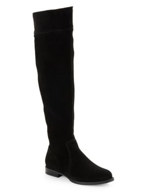 Skyler Suede Riding Boots by La Canadienne