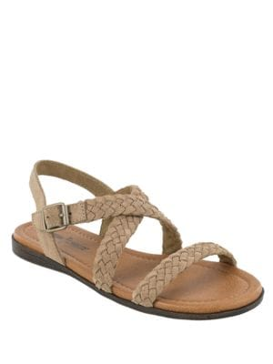 Santorini Suede Sandals by Minnetonka