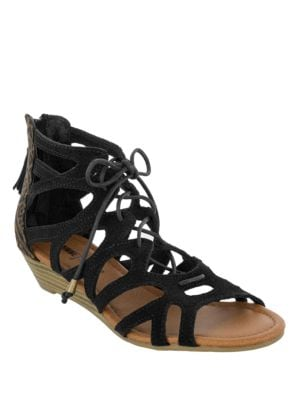 Merida II Suede Sandals by Minnetonka
