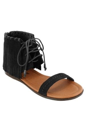 Havana Suede Sandals by Minnetonka