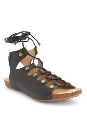 Nori Leather Sandals by Me Too