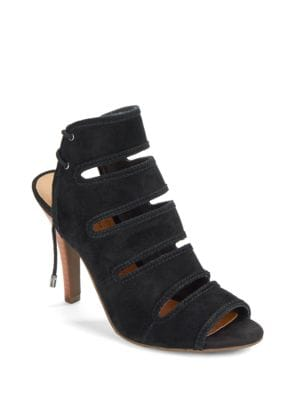 Leather Cutout Sandals by Seychelles