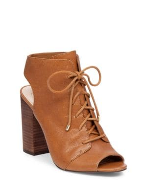 Klaya Leather Lace-Up Sandals by Jessica Simpson